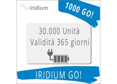 Ricarica Iridium GO 30.000 unità