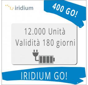 Ricarica Iridium GO 12.000 unità