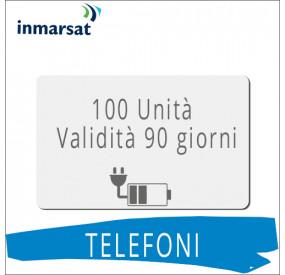 Ricarica telefoni Inmarsat 100 unità
