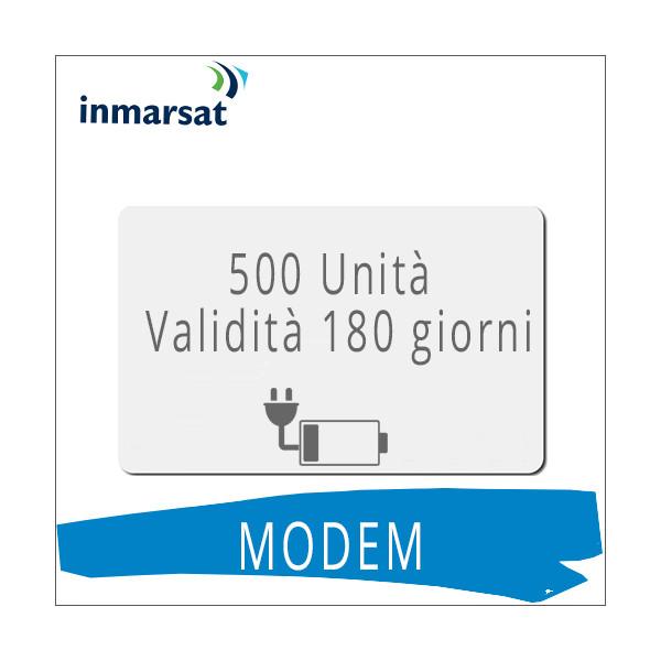 Ricarica modem Inmarsat 500 unità
