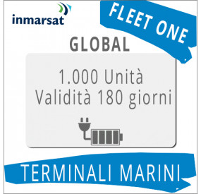 Ricarica Fleet One Global Inmarsat 1.000 unità