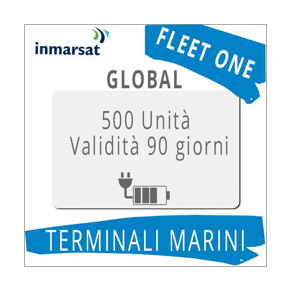 Ricarica Fleet One Global Inmarsat 500 unità