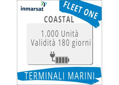 Ricarica Fleet One Coastal Inmarsat 1.000 unità