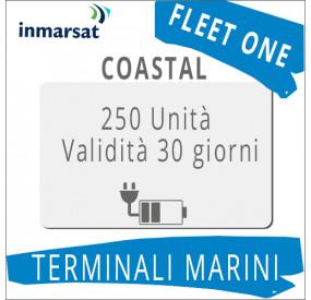 Ricarica Fleet One Coastal Inmarsat 250 unità