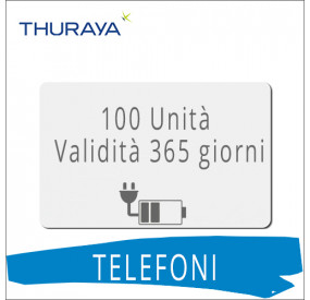 Ricarica Thuraya 100 unità