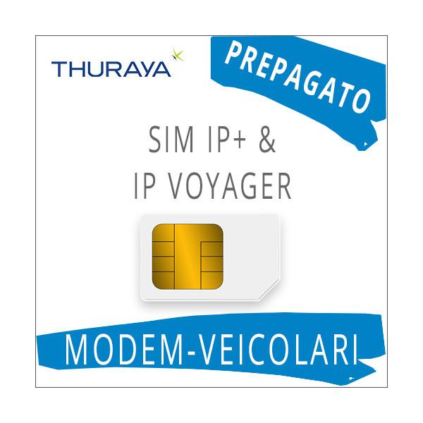 SIM Card Thuraya IP+ & IP Voyager - Prepagato