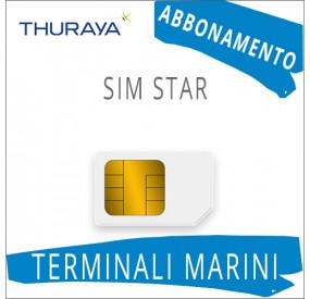 SIM Card Thuraya Star - Abbonamento