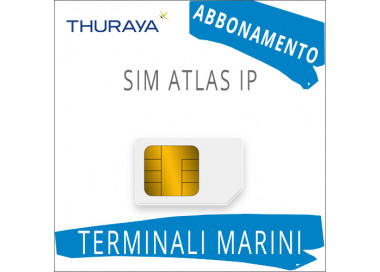 SIM Card Thuraya Atlas IP - Abbonamento