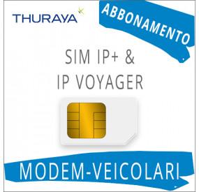SIM Card Thuraya IP+ & IP Voyager - Abbonamento