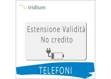 Telefoni IRIDIUM - Estensione Validità SIM Intermatica