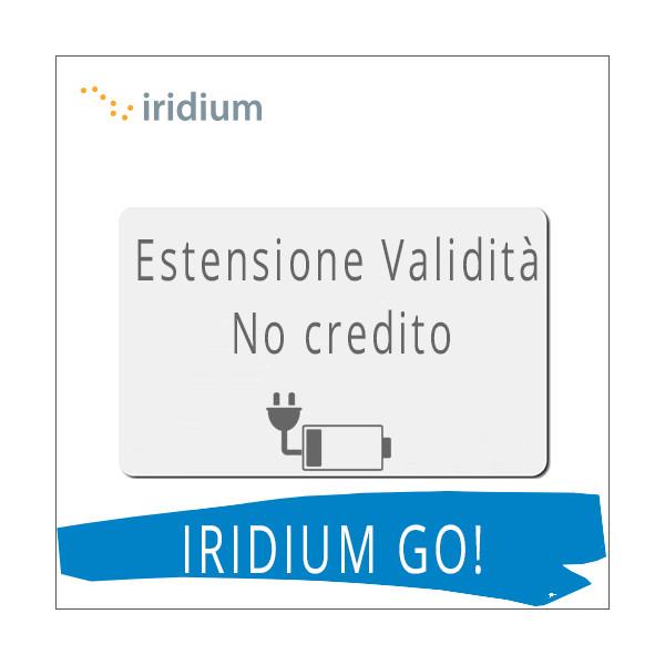 IRIDIUM GO! - Estensione Validità SIM Intermatica