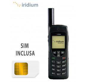 Telefono Iridium 9555 e SIM Intermatica