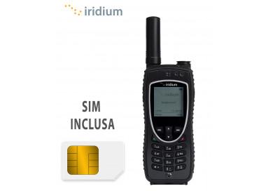 Telefono Iridium 9575 e SIM Intermatica